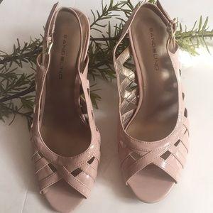 Bandolino nude color heels